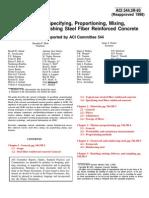 [ACI 544.3r-93] - Guia Para El Proporcionamiento, Mezclado Del CRF