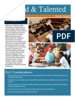 Gifted and Talented Brochure PDF