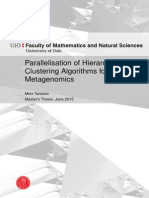 Parallelisation of Hierarchical Clustering for Metagenomics