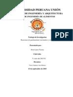 Reaciones de Pardeamineto Enzimatico y No Enzimatico