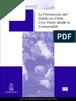 Dammert, L., Lunecke, A., 2004. La Prevención del Delito en Chile. Una Visión desde la Comunidad