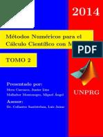 Métodos Numéricos para el Calculo Científico con Matlab - TOMO 2
