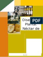 Diseño de Planta - Nectar de Chalarina