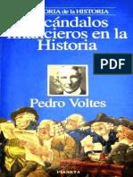 Escandalos Financieros en La Hi - Pedro Voltes