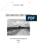 Analise Geomorfologica Resumos 2