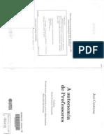 Contradições e Contrariedades - Do Profissional Reflexivo Ao Intelectual Crítico - J Contreras.pdf