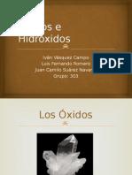 Óxidos e Hidróxidos
