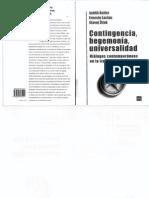 Butler, Laclau e Zizek - Contingencia, Hegemonía, Universalidad