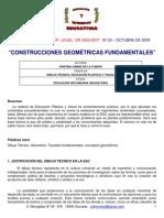 CONSTRUCCIONES GEOMETRICAS BASICAS