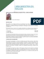 Kodak Apuntes Mba Maestria en Administracion