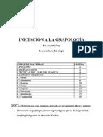 (Literatura) (Medicina) (Grafología) (Psiquiatría) Iniciación a La Grafología - Licenciado en Ps2