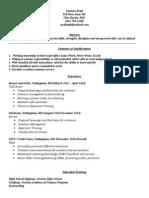 kraftzachary - resume