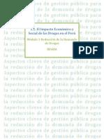 Material El Impacto Economico y Social de Drogas en El Peru