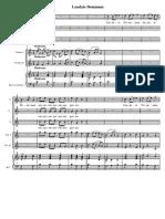 Laudate Dominum - Partitura Completa