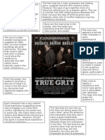 True Grit Poster Analysis