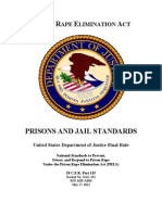 Prisons and Jails Final Standards