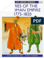 Osprey, Men-At-Arms #314 Armies of the Ottoman Empire 1770-1820 (1998) OCR 8.1
