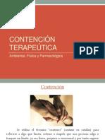 contenciones geriatria UDD