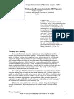 Concept Design Maths