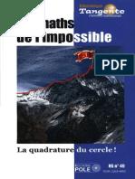 Bibliothèque Tangente HS 49 Les Maths de l'Impossible [Reduced]