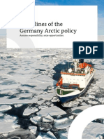 Guidelines of the German Arctic Policy