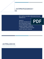 Antipaludicos, antiprotozoarios y antiheminticos
