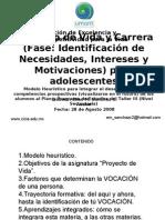 Proyecto de Vida Para Adolescentes