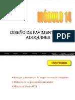 Diseño de Pavimento Adoquines