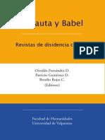 Amauta y Babel Revistas de disidencia cultural
