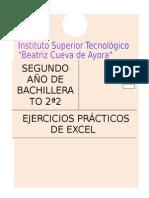 Ejercicios Prc3a1cticos de Excel 2a2