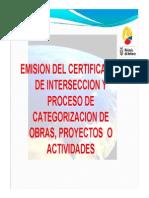 M-categorizacion de Los Proyectos