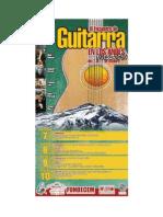 Encuentro de Guitarra en Los Andes - Afiche
