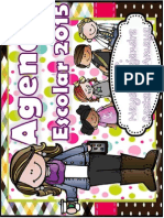 Agenda Escolar 2015-2016 Opción3