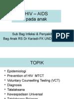 HIV-AIDS Pada Anak