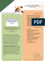 class newsletter1