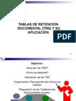 Tablas de Retencion Documental