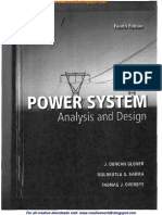 Power System Analysis and Design-4thed