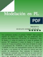 Modelación en PL
