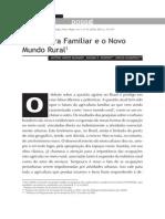 Agricultura Familiar e o Novo rural