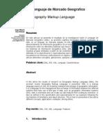 GML Lenguaje de Marcado Geografico - Artículo