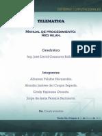 Manual WLAN