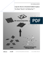 Two-Dimensional Nanocomposites Based on Chemically Modified Graphene