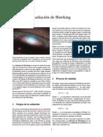 Radiación de Hawking