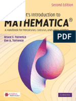 Torrence Student's Introduction to MATHEMATICA 2nd Txtbk