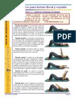 Pilates- Hernia Lumbar
