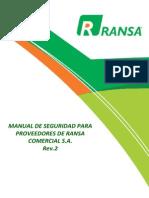 Manual de Seguridad Para Proveedores Rev2