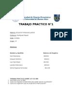 TP N° 1 de Actuacion Profesional Judicial
