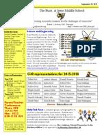 Newsletter 9-28-15