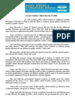 sept25.2015Bill to increase teachers' allowance by P2,000
