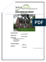 Accutech Home Inspection Sample Report 2